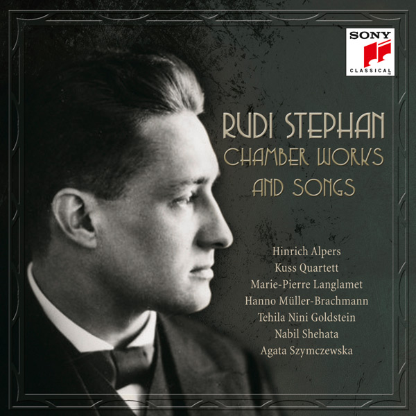 CD Cover - Chamber Works and Songs